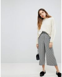 Pull&Bear - Dog Tooth Pants - Lyst