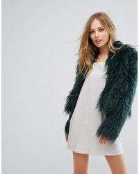 Keepsake - Aurora Faux Fur Coat - Lyst