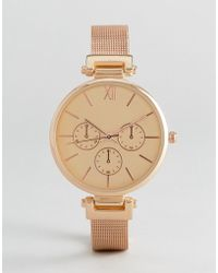 New Look - Mesh Dial Watch - Lyst