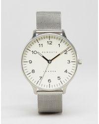 Newgate Watches - Blip Milanese Mesh Watch - Lyst