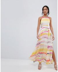 Coast - Galesa Printed Maxi Dress - Lyst