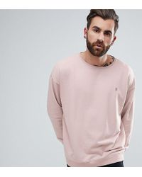 Noose And Monkey - Longline Sweat With Logo - Lyst