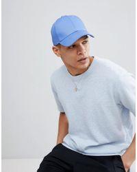 ASOS - Cappellino blu - Lyst