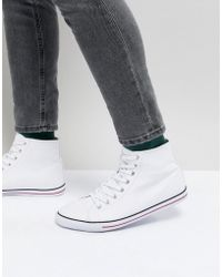 cheap sale many kinds of ASOS DESIGN oxford plimsolls in white canvas cheap sale order outlet low cost pay with paypal for sale 1UyuUhL