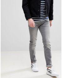 Blend - Twister Slim Fit Jeans In Grey Wash - Lyst