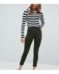 Bershka - Mom jeans a vita alta - Lyst
