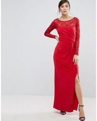 Coast - Reeva Lace Maxi Dress - Lyst