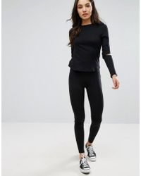 New Look - High Waist Leggings - Lyst