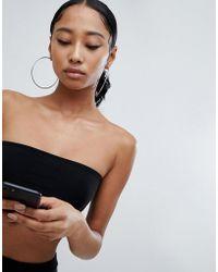 Fashionkilla - Bandeau Boobtube In Black - Lyst