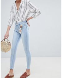 New Look - India Supersoft Skinny Jeans - Lyst