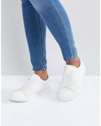 London Rebel - Elastic Trainer - Lyst