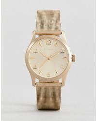Pilgrim - 701712020 Gold Plated Watch - Lyst