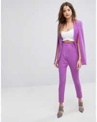Lavish Alice - Tailored Trousers - Lyst