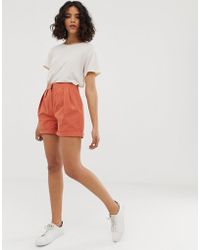 Native Youth - High Waist Relaxed Shorts - Lyst