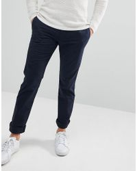Polo Ralph Lauren - Slim Fit Stretch Chinos In Navy - Lyst