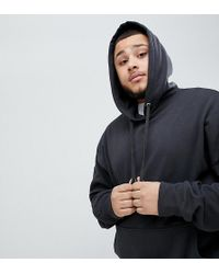 Sixth June - Hoodie With Dropped Shoulder In Black Exclusive To Asos - Lyst