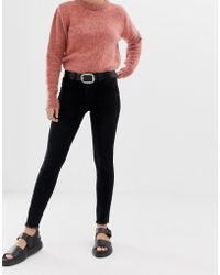 2nd Day 2ndday Jolie Mid Rise Skinny Jean With Frayed Hem