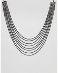 Coast - Uma Crystal Layerd Necklace - Lyst