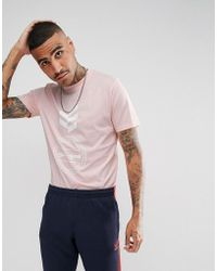Gio Goi - T-shirt With Logo Print In Pink - Lyst