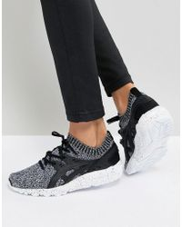 Asics - Gel-kayano Trainer Knit Trainers In Grey Print - Lyst