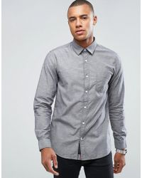 Produkt - Chambray Shirt - Lyst