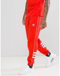 Adidas Originals 83 c klare braune Trainingshose für Herren Lyst