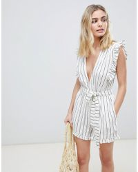 Billabong - Beach Playsuit - Lyst