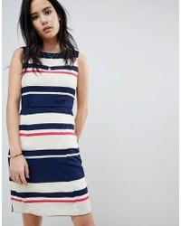 Sugarhill - Eliza Stripe Shift Dress - Lyst