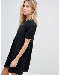 ASOS - Asos Smock Mini Dress - Lyst
