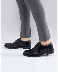 ALDO - Branton Leather Brogue Shoes In Black - Lyst