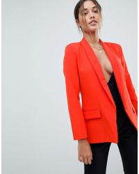 Missguided - Tailored Blazer - Lyst