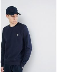 Henri Lloyd - Bredgar Crew Neck Sweat In Navy - Lyst