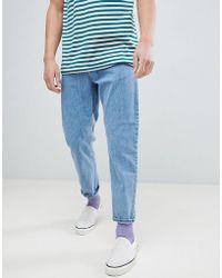 Carhartt WIP - Newel Jeans In Blue Stone Bleached - Lyst