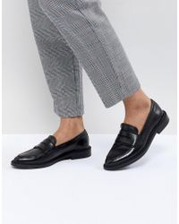 SELECTED - Femme Leather Loafer - Lyst