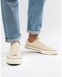 6ed78137a461be Converse - Chuck Taylor All Star  70 Ox Sneakers In Parchment 162062c - Lyst