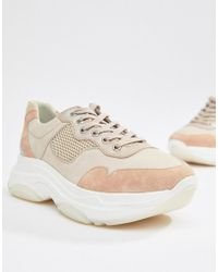 Dune - Escape Chunky Sole Trainers - Lyst
