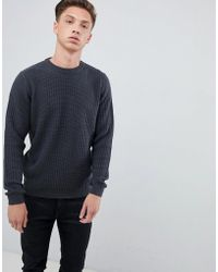 Tokyo Laundry Fisherman Knit Sweater - Gray