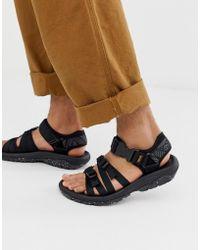 Teva Alp Premier Men's Sandals, Black at John Lewis & Partners