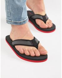 Jack & Jones - Comfort Flip Flops - Lyst