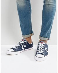 35d5797734bd Lyst - Converse One Star Trainers 153964c-659 in Purple for Men