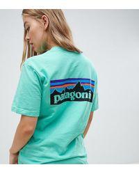 Patagonia - Oversized P-6 Logo Responsibili-tee In Green - Lyst