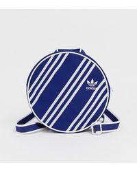 adidas Originals - X Ji Won Choi Three Stripe Backpack In Navy - Lyst