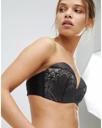 Wonderbra - Refined Glamour Ultimate Strapless Lace Bra A - G Cup - Lyst
