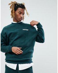 ASOS DESIGN - Asos X Unknown London Sweatshirt With Back Stripe - Lyst
