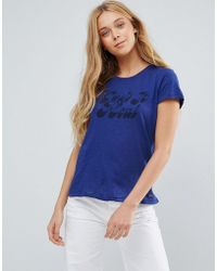 Pepe Jeans - Keep It Real Print T-shirt - Lyst