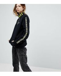 Vans - Exclusive To Asos Half Zip Pullover In Black - Lyst
