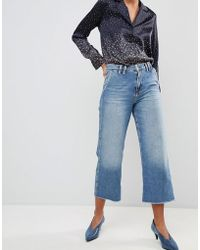 Pepe Jeans - Patsy Cropped Flared Jeans - Lyst