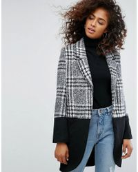 Religion - Property Coat In Check Mix - Lyst