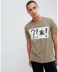 Nudie Jeans - Co Kurt Wtf T-shirt - Lyst