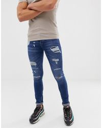 Loyalty & Faith - Loyalty And Faith Skinny Fit Jeans In Midwash - Lyst